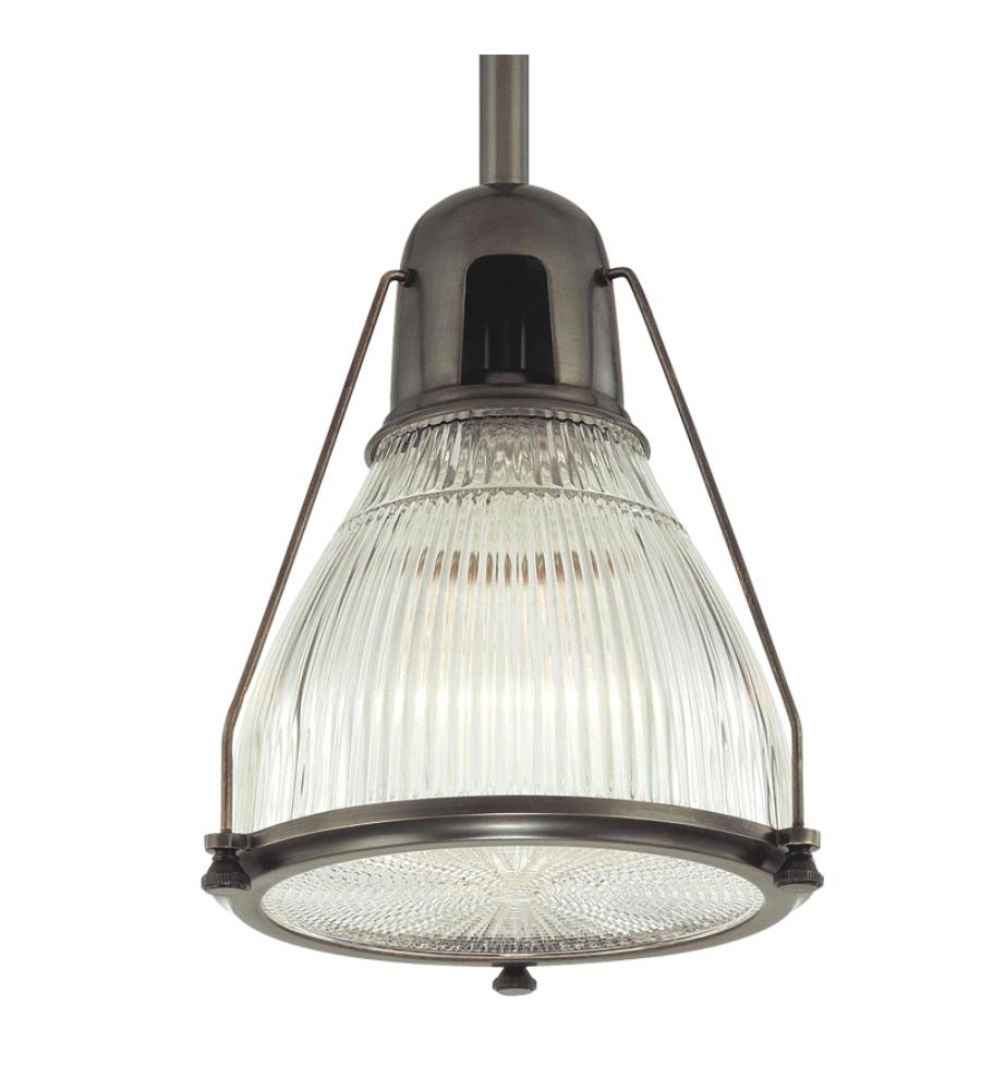 Where Is Hudson Valley Lighting Made: Hudson Valley 7311-OB Haverhill 1 Light Pendant In Old
