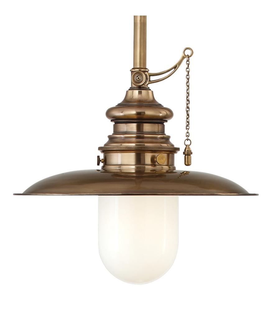 Hudson Valley Lighting Bulbs: Hudson Valley 8810-Agb Kendall 1 Light Pendant In Aged