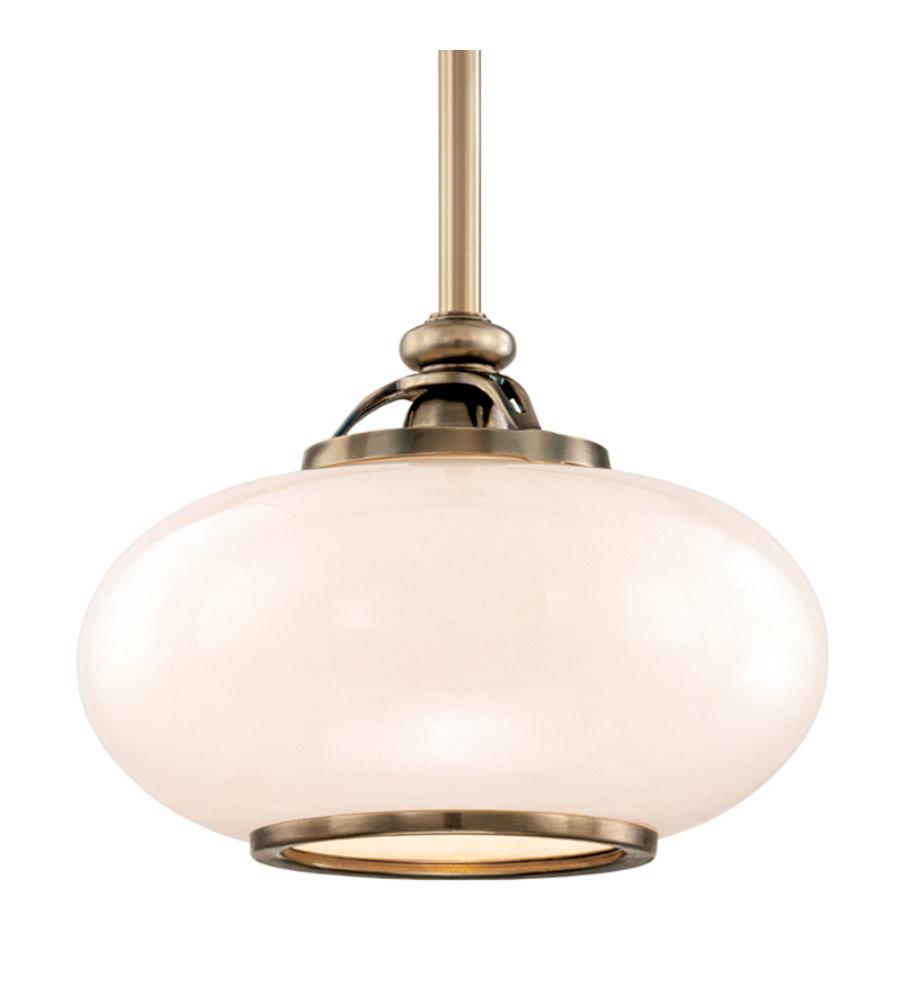 Hudson Valley Lighting Fulton: Hudson Valley 9815-On Canton 1 Light Pendant In Old Nickel