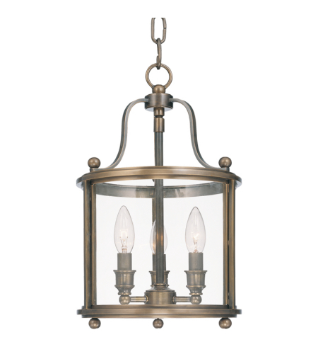 Hudson Valley 1310-Db Mansfield 3 Light Pendant In Distressed Bronze
