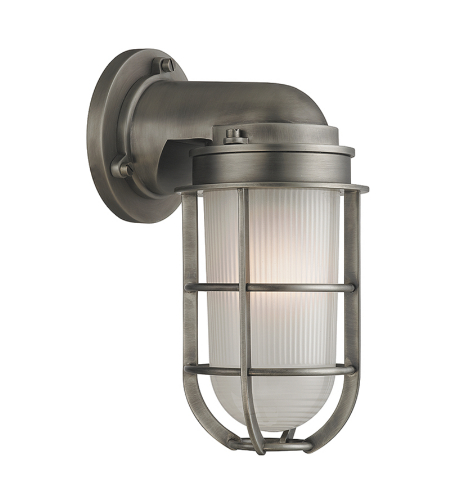 Hudson Valley 240-An Carson 1 Light Wall Sconce In Antique Nickel