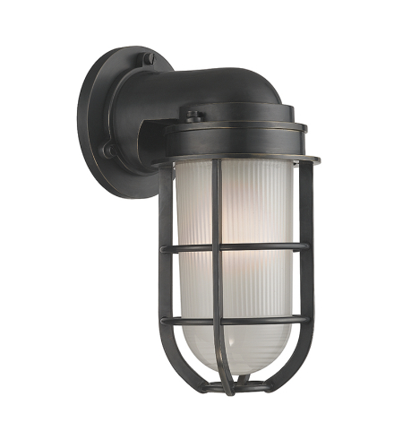 Hudson Valley 240-Ob Carson 1 Light Wall Sconce In Old Bronze