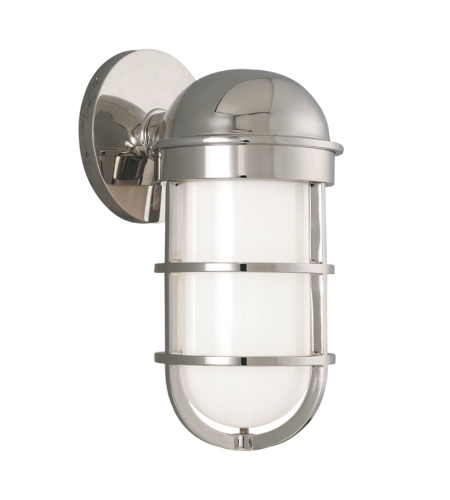 Hudson Valley 3001-Pn Groton 1 Light Bath Bracket In Polished Nickel