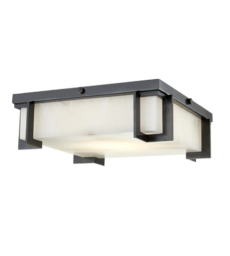 Hudson Valley Lighting 3913-OB Delmar Led Large Flush Mount in Old Bronze