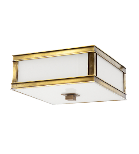 Hudson Valley 4213-Agb Preston 2 Light Flush Mount In Aged Brass