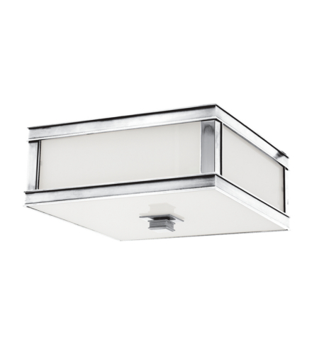 Hudson Valley 4213-Pn Preston 2 Light Flush Mount In Polished Nickel