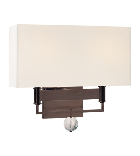 Hudson Valley 5642-OB Gresham Park 2 Light Wall Sconce in Old Bronze