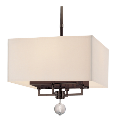 Hudson Valley 5644-OB Gresham Park 4 Light Pendant in Old Bronze