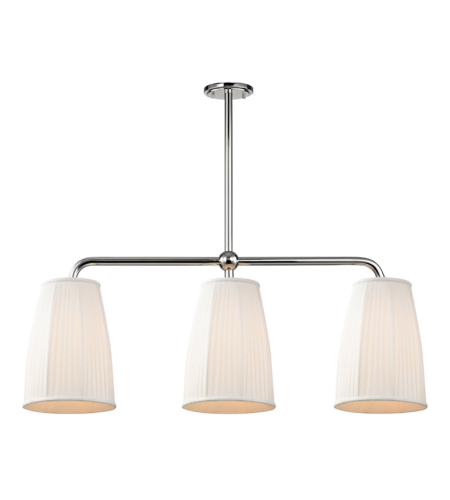 Hudson Valley 6063-Pn Malden 3 Light Island In Polished Nickel