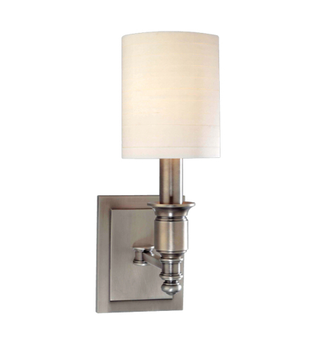 Hudson Valley 7501-AN Whitney 1 Light Wall Sconce in Antique Nickel