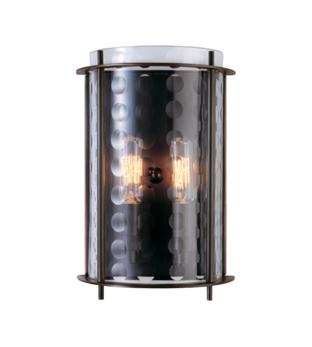 Hudson Valley Lighting 7602-OB Esopus 2 Light Wall Sconce in Old Bronze