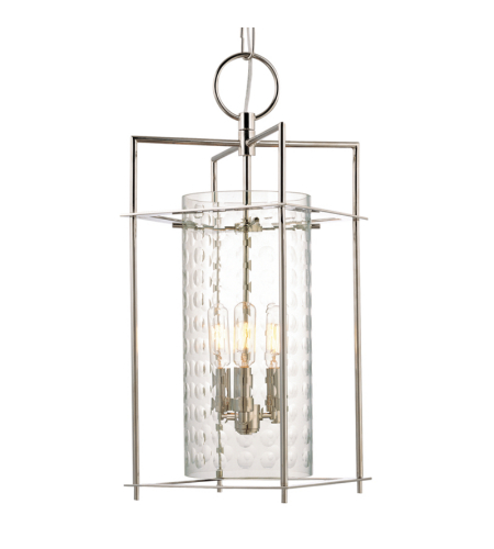 Hudson Valley Lighting 7612-PN Esopus 4 Light Pendant in Polished Nickel