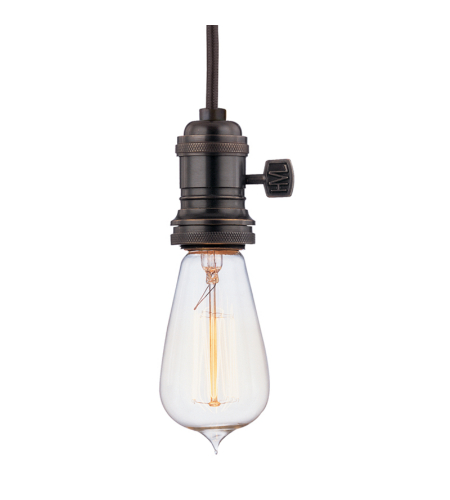 Hudson Valley 8001-Ob Heirloom 1 Light Pendant In Old Bronze