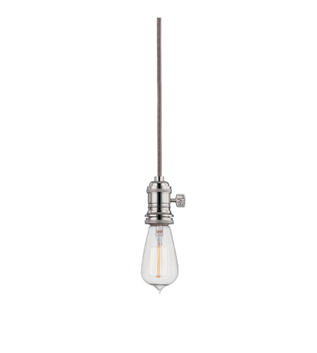 Hudson Valley 8002-Pn Heirloom 1 Light Pendant In Polished Nickel
