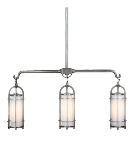 Hudson Valley 8533-Pn Portland 3 Light Island In Polished Nickel
