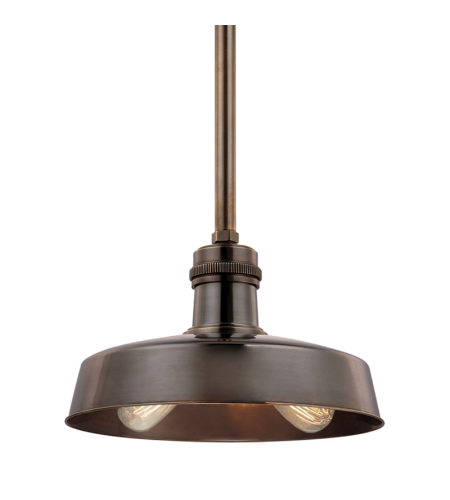 Hudson Valley 8614-Db Hudson Falls 2 Light Pendant In Distressed Bronze