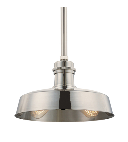 Hudson Valley 8614-Pn Hudson Falls 2 Light Pendant In Polished Nickel