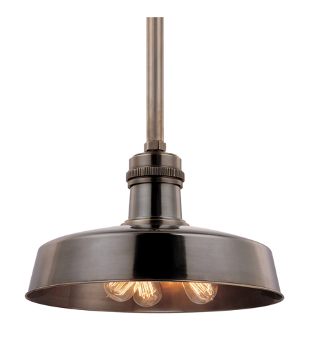 Hudson Valley 8618-Db Hudson Falls 3 Light Pendant In Distressed Bronze