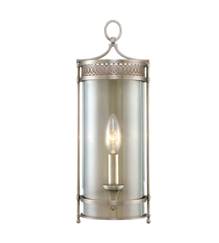 Hudson Valley 8991-AN Amelia 1 Light Wall Sconce in Antique Nickel