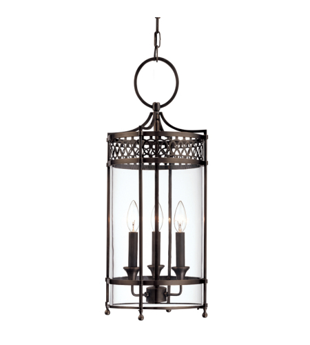 Hudson Valley 8993-DB Amelia 3 Light Pendant in Distressed Bronze