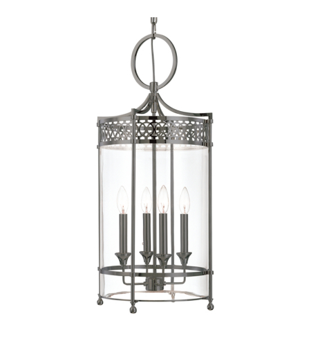 Hudson Valley 8994-AN Amelia 4 Light Pendant in Antique Nickel
