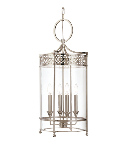 Hudson Valley 8994-PN Amelia 4 Light Pendant in Polished Nickel