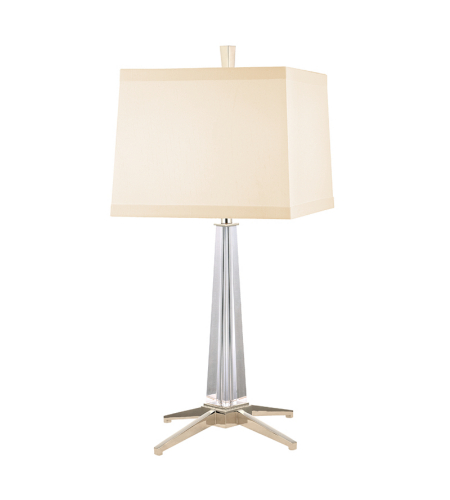 Hudson Valley L387-Pn Hindeman 1 Light Table Lamp In Polished Nickel