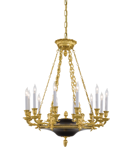 Metropolitan N2247 12 Light Chandelier