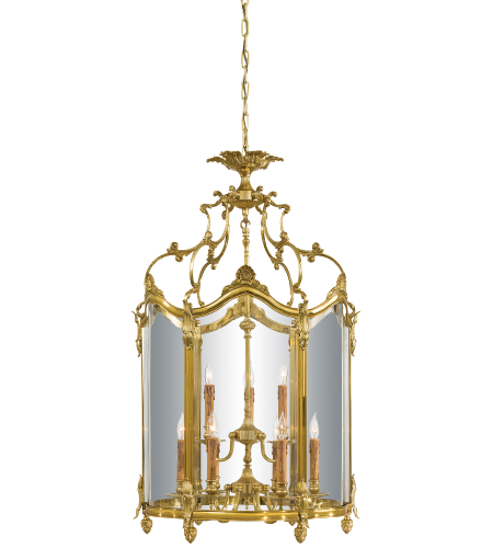 Metropolitan N2334 French Gold 9 Light Foyer Pendant