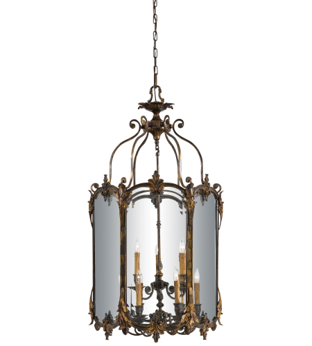Metropolitan N2335-OXB Signature 9 Light Pendant in Antique Bronze Patina