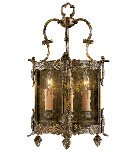 Metropolitan N2339-OXB Signature 3 Light Sconce in Antique Bronze Patina