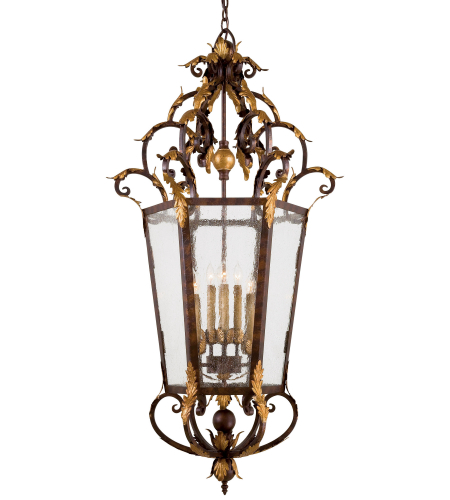 Metropolitan N3639-355 Golden Bronze 8 Light Foyer Pendant