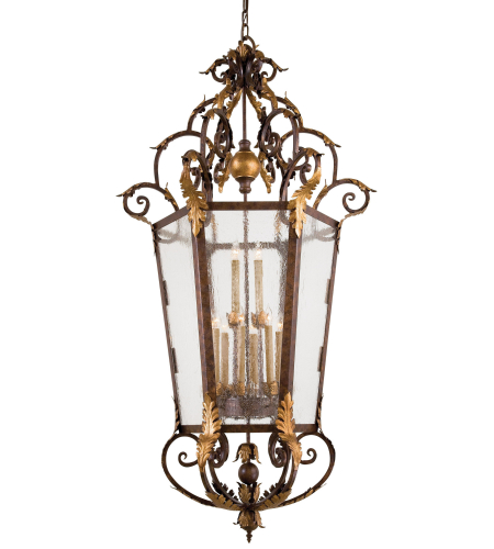 Metropolitan N3642-355 Golden Bronze 12 Light Foyer Pendant