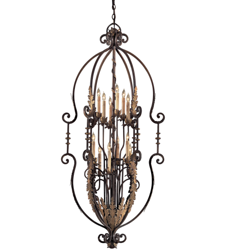 Metropolitan N3644-362 Signature 12 Light Chandelier in Amandari