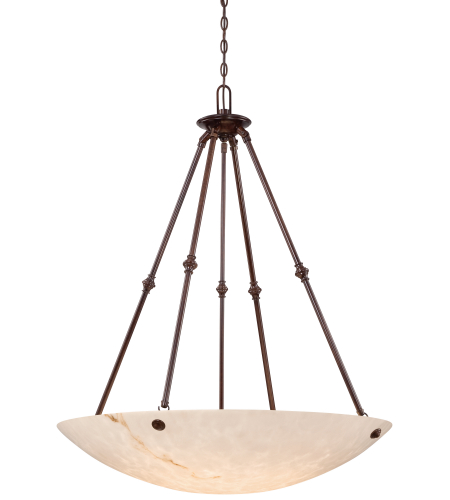 Metropolitan N3706-BP Virtuoso II 6 Light Pendant in Bronze Patina