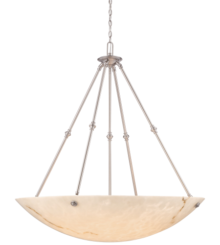 Metropolitan N3708-PW Virtuoso II 8 Light Pendant in Pewter (Plated)