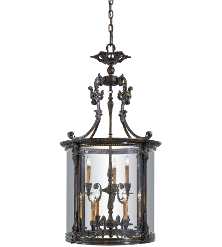 Metropolitan N3920 9 Light Foyer Pendant