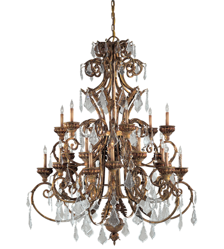 Metropolitan N6229-363 Signature 24 Light Chandelier in Padova