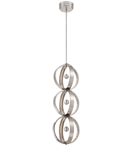 Metropolitan N6996-613-L Polished Nickel Led Chandelier