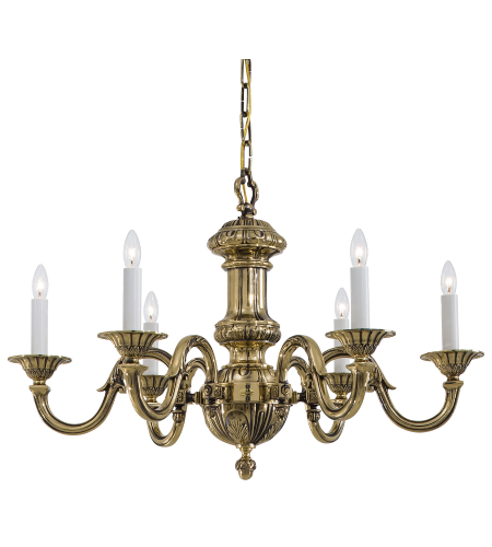 Metropolitan N700206 6 Light Chandelier