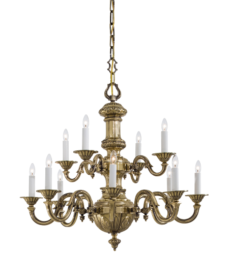 Metropolitan N700212 12 Light Chandelier