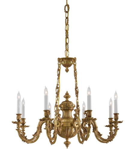 Metropolitan N700408 8 Light Chandelier