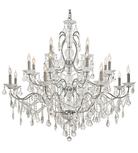 Metropolitan N8009 Signature 20 Light Chandelier in Chrome