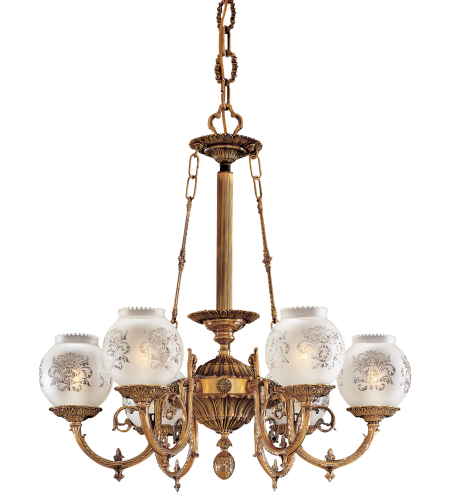Metropolitan N801906 6 Light Chandelier
