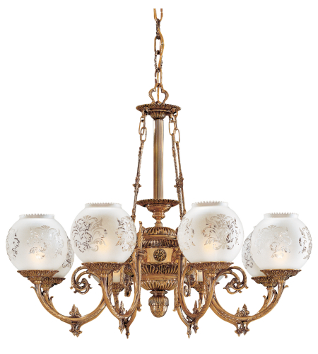 Metropolitan N801908 8 Light Chandelier