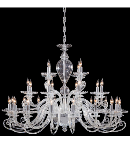 Metropolitan N9160 Chrome 28 Light Chandelier