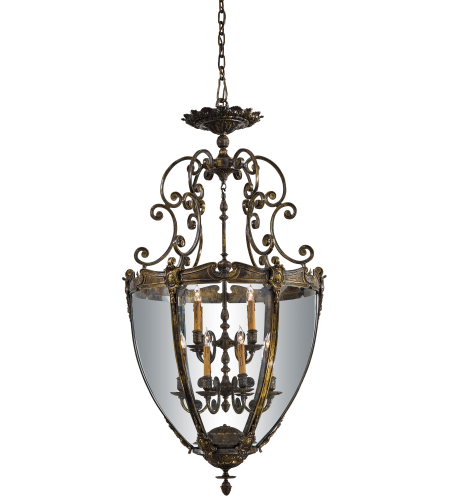 Metropolitan N9204 Oxide Brass 12 Light Foyer Pendant