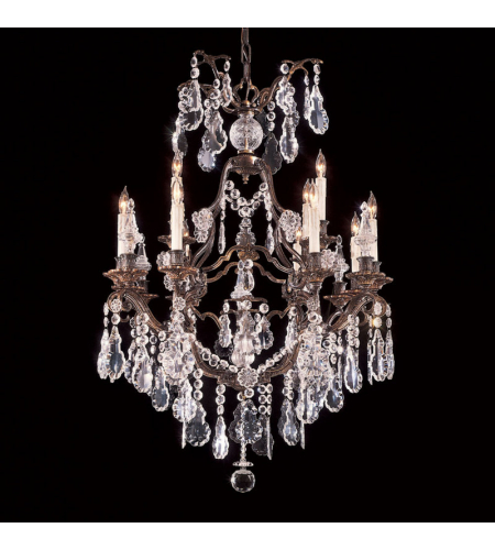 Metropolitan N950110 Signature 12 Light Chandelier in Oxide Bronze