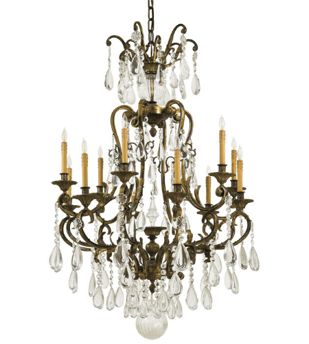 Metropolitan N950115 12 Light Chandelier