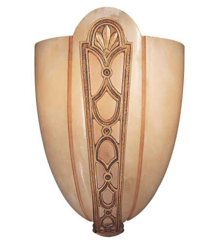 Metropolitan N950166 Signature 1 Light Sconce in French Gold